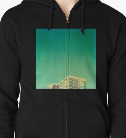 Morecombe High Rise Zipped Hoodie