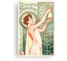 Absinthe Sherlock Canvas Print