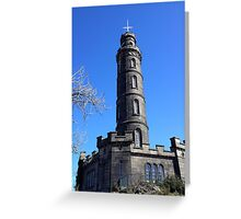 Nelson Monument, Calton Hill, Edinburgh Greeting Card