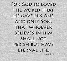John 3:16 - New International (Bible Verses) Unisex T-Shirt