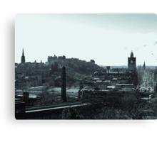 Edinburgh Skyline. Canvas Print