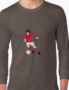 Minimalist George Best design Long Sleeve T-Shirt