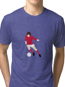 Minimalist George Best design Tri-blend T-Shirt