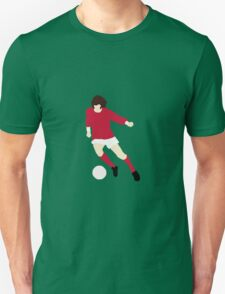 Minimalist George Best design T-Shirt