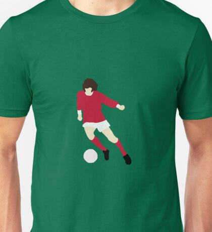 Minimalist George Best design Unisex T-Shirt