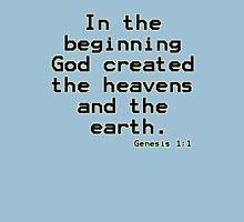 Genesis 1:1 (Bible Verses) Unisex T-Shirt