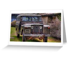 Land Rover 02 Greeting Card