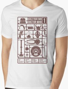 Build Your Own Doctor Who 1 Mens V-Neck T-Shirt