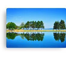 Tree Line Canvas Print