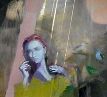NOSTALGY, 2012, OIL ON CANVAS by ANNA ZYGMUNT