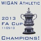 Wigan Athletic - FA Cup Champions by GrandClothing