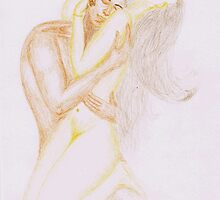Passionate Love Hug by Dhaval Shah