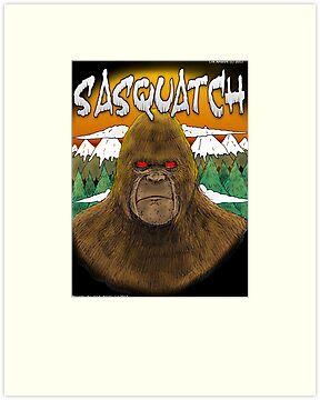 Sasquatch by Luke Kegley