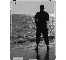 Man in the beach iPad Case/Skin