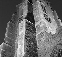 sudbury church at night by sarahanddave