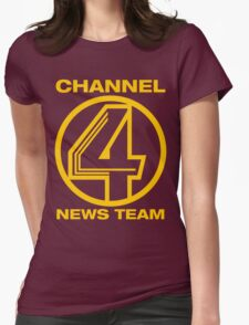 Channel 4 News Team Shirt Womens Fitted T-Shirt