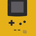 Yellow Gameboy by kalikristine