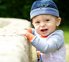 Baby in action by Danail Tanev