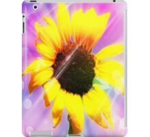 sunflower power-ipad iPad Case/Skin