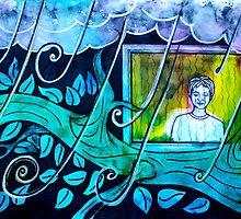 Miro - watching the rain by Mascha Keersmaekers
