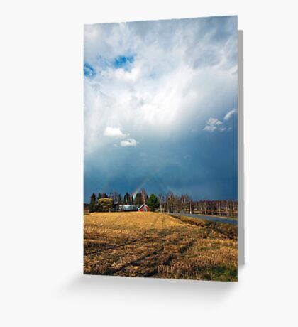 Thunder, central Finland Greeting Card