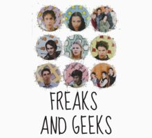 Freaks and Geeks tee by wordofshay