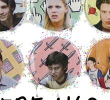 Freaks and Geeks Sticker