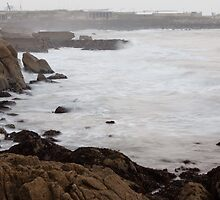 Dublin bay in a storm day by sdimartino