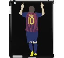 Lionel Messi Minimalist design iPad Case/Skin