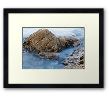Sea Rock Framed Print