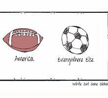 Football. by samanthaleebee