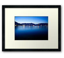 Lake Como Framed Print