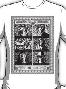Final Fantasy Jobs Geek Art Poster T-Shirt