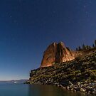 Cave Rock at Night by Richard Thelen