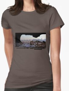 the gatekeeper Womens Fitted T-Shirt
