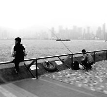 harbour fishing by angeldragon069
