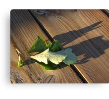 Leaves Me This Resting Place Canvas Print