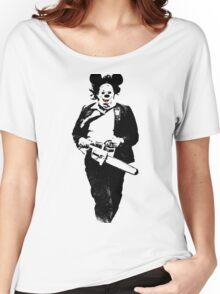 Texas Chainsaw Mikey Women's Relaxed Fit T-Shirt