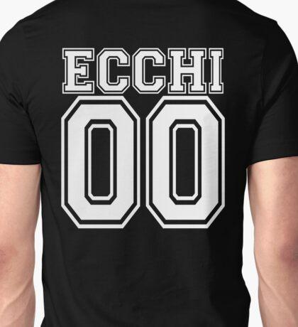 Ecchi Jersey - White Collegiate Unisex T-Shirt