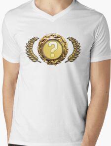 Rare Special Item Design Mens V-Neck T-Shirt