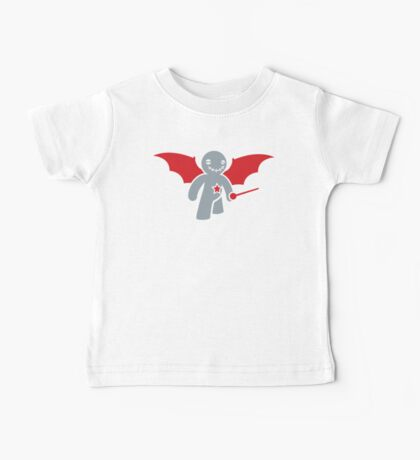 Voodoo happy toy happy with red wings  Baby Tee