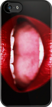 Mouth iphone by DCPRODUCTION