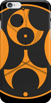 Bass Music Gallifreyan Iphone Case by cedavis8