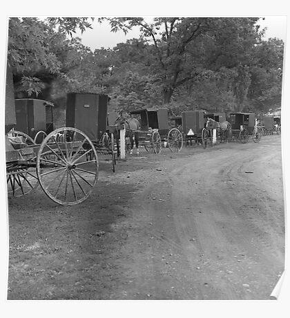 Pennsylvania Amish Poster
