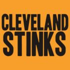 Cincinnati Bengals - Cleveland Stinks by MOHAWK99