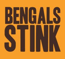 Cleveland Browns - Bengals stink - brown by MOHAWK99