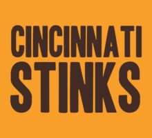 Cleveland Browns - Cincinnati stinks by MOHAWK99