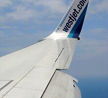 Westjet  Wingtip by kenspics