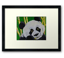 Panda Bear Framed Print