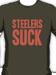 Cleveland Browns - Steelers suck - orange T-Shirt